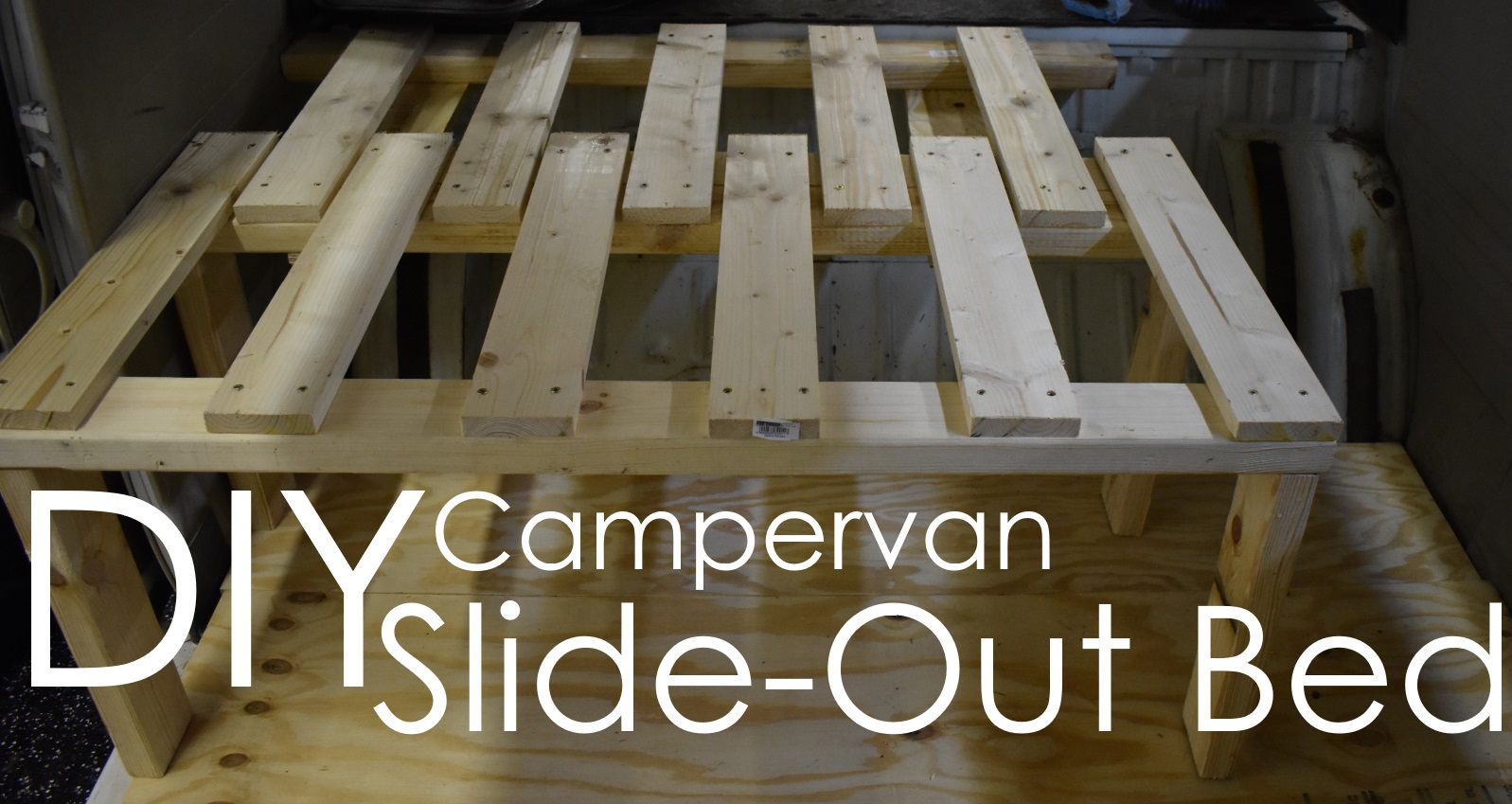 Diy Campervan Slide-out Bed